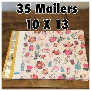 Other - 35 Bunny Poly Mailers (10 X 13)